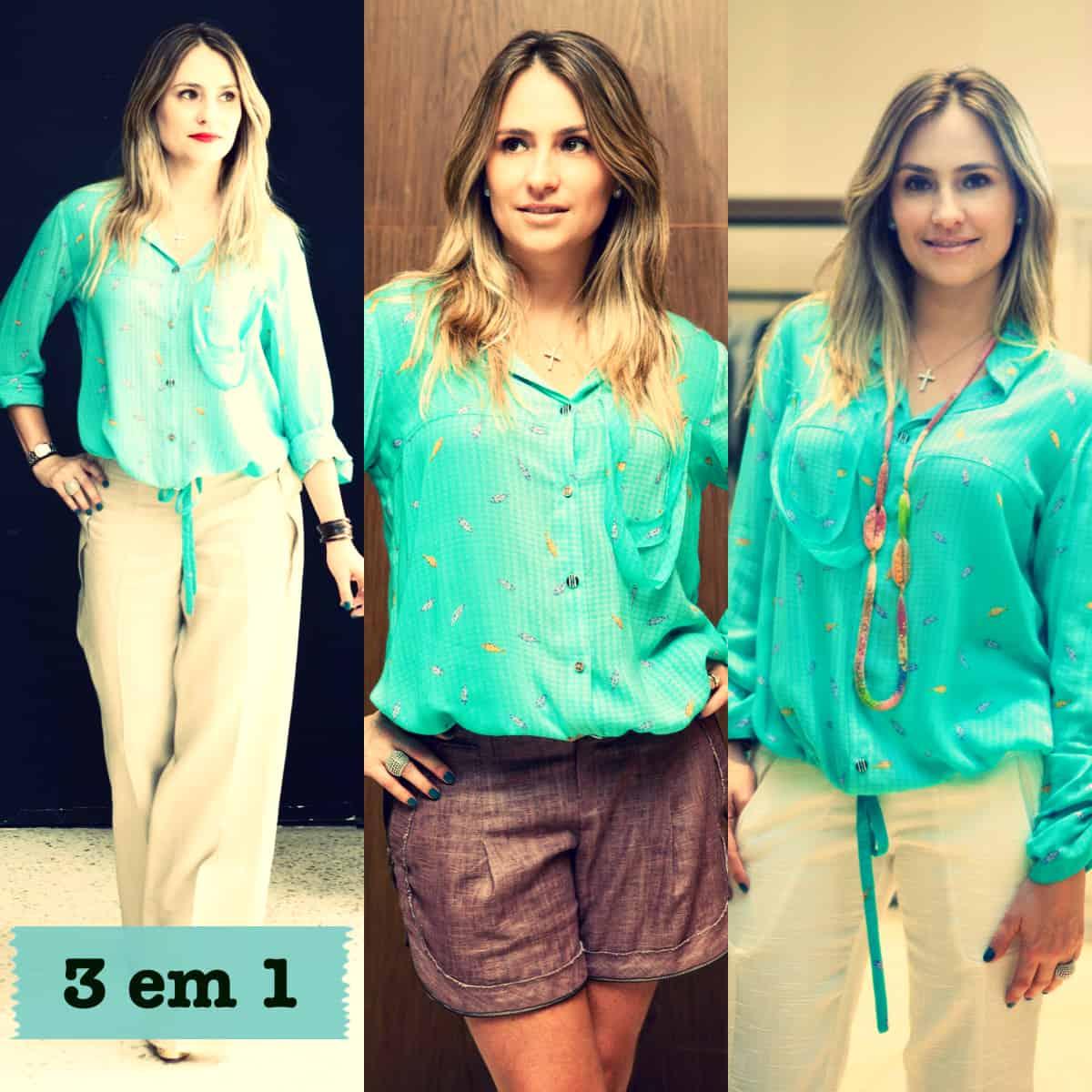 9504dd7b81 Camisa (3 em 1) LILLA KA