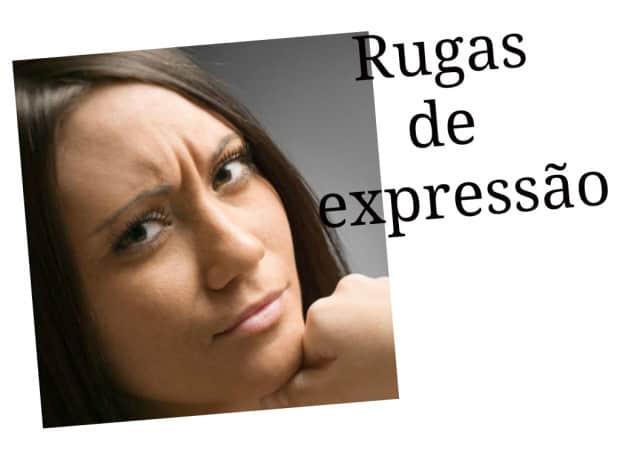 rugas de expressão