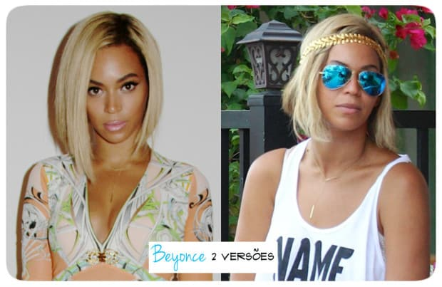 Beyonce cabelo curto