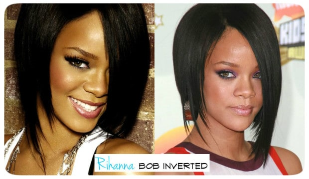 Rihanna bob inverted hair