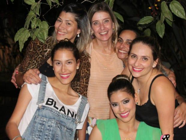 Lele Pompeu, Fernanda Wabel, Adriana Felix, Lili Ferrari, Luciana Micheletti  e Vanessa Araujo