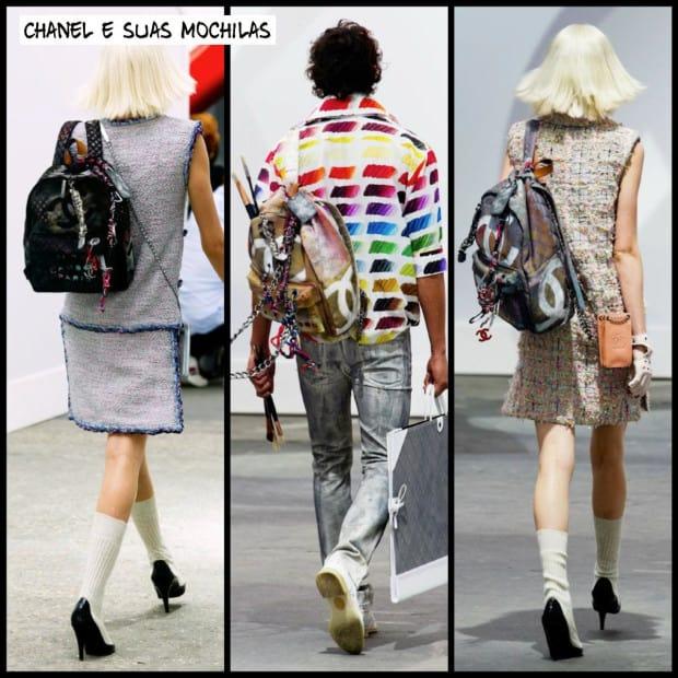 chanel mochilas