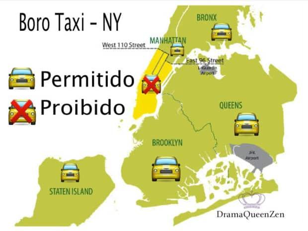 boro taxi - new york - DQZ