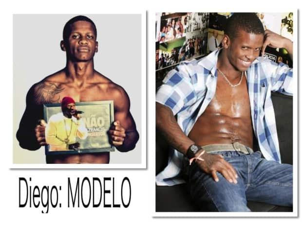 Diego, modelo e ex-traficante