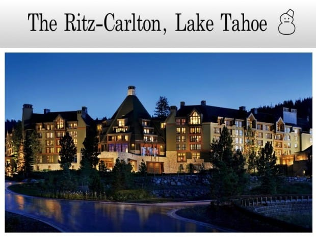 The Ritz-Carlton Lake Tahoe - DQZ