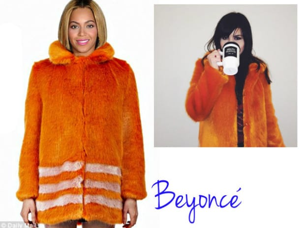 beyoncé - shrimp coat - DQZ