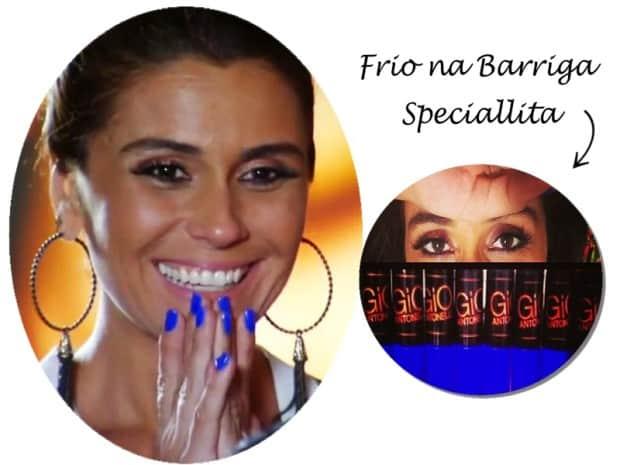 Giovanna Antonelli - DQZ - esmalte Frio na Barriga