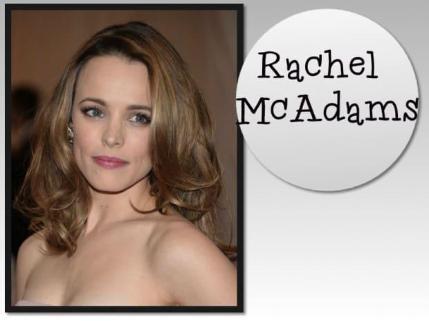 Rachel McAdams -cabelo repicado
