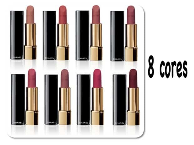Batom Chanel Rouge Velvet Allure