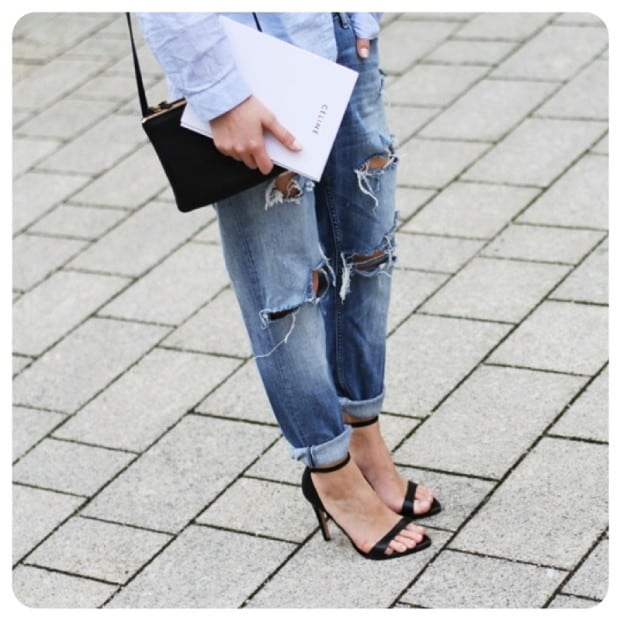 36a971ddd jeans rasgado