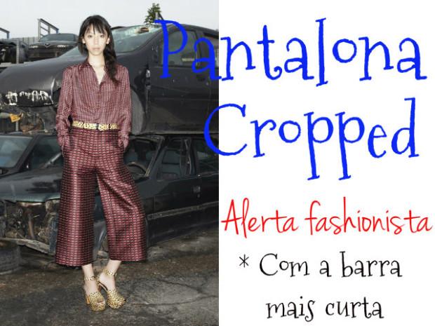 Pantalona cropped - DQZ