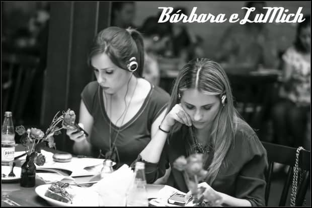 Bárbara Duarte e Luciana Micheletti - Evento Avène - Chez Oscar