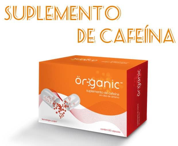suplemento de Cafeina - Organic