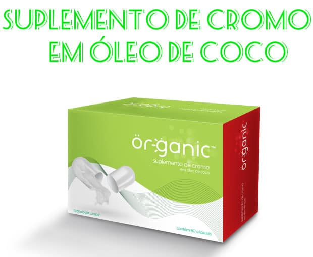 Cromo em Oleo de Coco