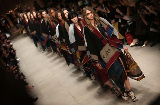 Burberry Prorsum: Runway - London Fashion Week AW14