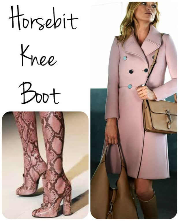 Horsebit knee boot - Gucci