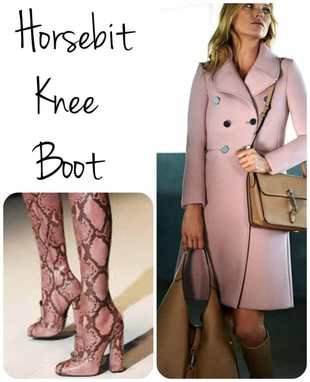 Horsebit knee boot - Gucci