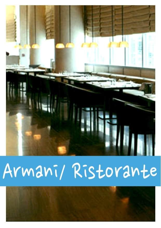 Armani Ristorante