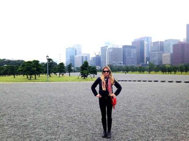 Palácio Imperial - Tokyo - DQZ