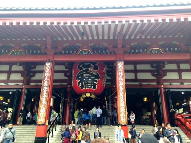 japão - Tokyo - templo Asakusa