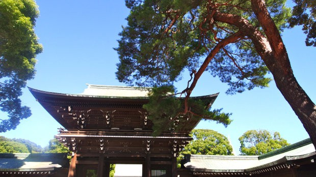 santuário de meiji - tokyo