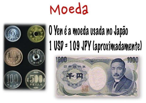 japão - moeda & dinheiro - DQZ