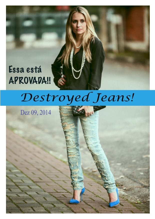 Destroyed jeans 1 - Luciana Micheletti