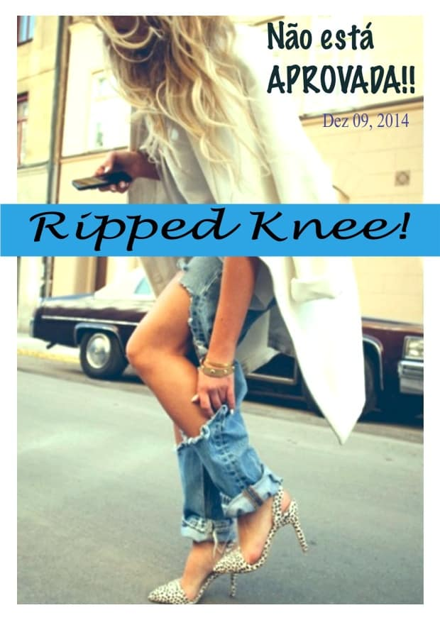 Ripped knee 1