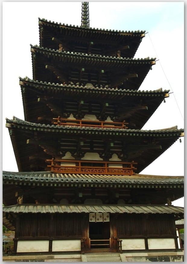 Horyuji  temple - Japan