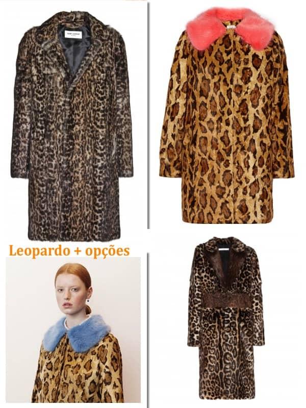 Um clássico para o outono inverno  Leopardo 1458ae160b
