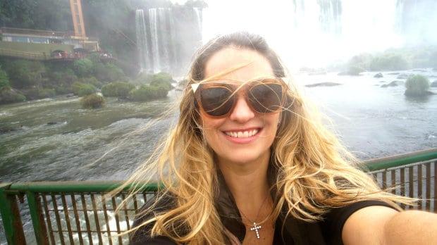 lumich nas cataratas do Iguaçu